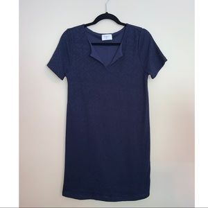 Everly Navy Blue Shift Dress